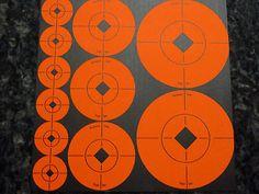 """Birchwood Casey Target Spots (6 ea)-1"""", (4 ea)-2"""" & (2 ea)-3"""" Assortment (33928)"""