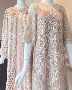 Dress Brukat, Hijab Dress Party, Lace Dress, Pakistani Formal Dresses, Pakistani Outfits, Modest Dresses For Women, Simple Dresses, Kebaya Modern Dress, Rehearsal Dinner Outfits