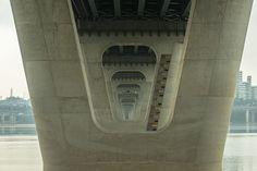 Get Lost in the Trippy Geometry of Seoul's Endless Bridges | Gwangjin Bridge…