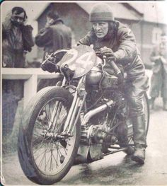 Motorcycle racer 1930
