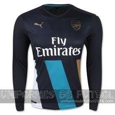11d9cb736f242 Venta de Jersey tercera para uniforme del ML Arsenal 2015-16  22.90.  uniformesdefutbol · uniformes de futbol del Arsenal 2016