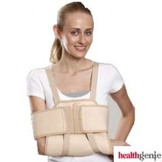 Orthopedic supports for shoulder, aid in preventing the subluxing shoulder. Many products to choose from healthgenie.in with free shipping & COD available.