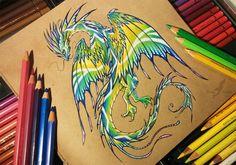 South sea dragon [Ebay auction] by AlviaAlcedo.deviantart.com on @DeviantArt