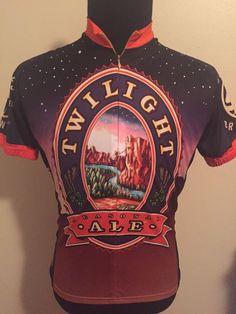 243d0b0a3 World Jerseys CyclIng Jersey Mens Medium M Twilight Ale Deschutes Brewery