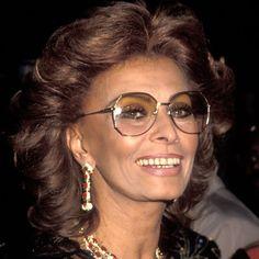Sophia Loren - Transformation - hair and makeup