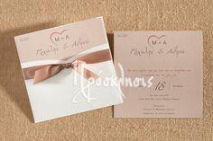 Προσκλητήρια γάμου με αρωματικά χαρτιά και ιδιαίτερες υφές! #prosklitiria #gamos #proskliseis #prosklisis #wedding #invitations