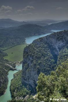Río Cinca desde Samitier Huesca Spain