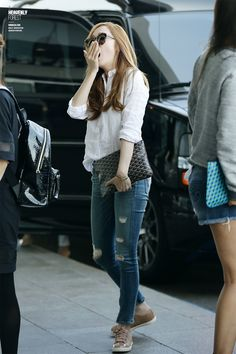 SNSD Jessica Airport Fashion 140522 2014
