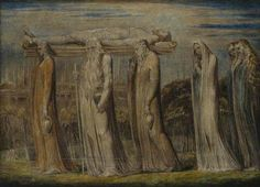 The Body of Christ Borne To the Tomb by William Blake