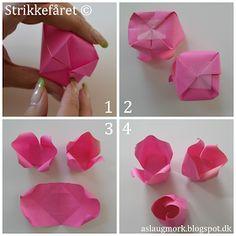 Strikkefåret: Rose foldet af penge Money Flowers, Paper Flowers, Origami, Paper Crafting, Diy And Crafts, Creative, Blog, Gifts, Inspiration