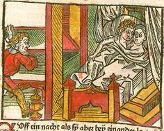 Johannes <de Capua> / Antonius <von Pforr>: Das buoch der weyßheyt der altten weysen Augsburg, 1484 Ink I-378 - GW M13178  Folio 184