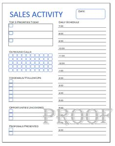 Free Client Contact Sheet  Sales FollowUp Template  Cars