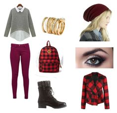 """Sem título #68"" by garotarockstar on Polyvore featuring moda, Great Plains, Charlotte Russe, Forever 21, Sole Society, Dex e H&M"