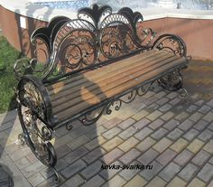 Photos wrought iron benches