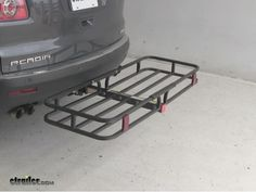 "Jeep Wrangler Unlimited 17x50 MaxxTow Cargo Carrier for 2"" Hitches - Steel - 500 lbs"