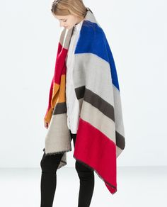 Image 2 of STRIPED SCARF from Zara