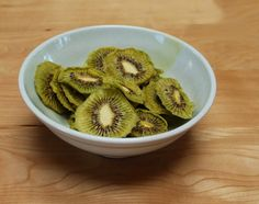 Delicious Organic Fresh Made Dehydrated Kiwi by VeganGrandmother