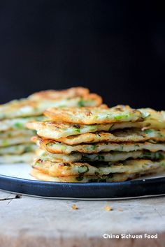 Easy Chinese Scallion Pancake