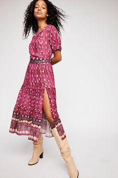 Free People Honey Buttondown Midi Dress - S Women's Fashion Leggings, Boho Fashion, Womens Fashion, Fashion Over 40, Dress To Impress, Wrap Dress, Booty, Clothes For Women, Free People