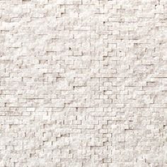 "Solistone 10-Pack 12"" x 12"" Modern White Natural Stone Wall Tile - backsplash"