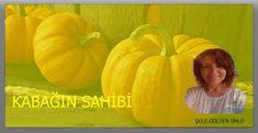 Mutlu Hayat: KABAĞIN SAHİBİVaktiyle bir dervişberberegider. B... Pumpkin, Vegetables, Pumpkins, Vegetable Recipes, Squash, Veggies