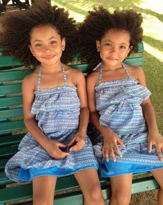 """""""securelyinsecure: """"Twin Actresses/Models Anais and Mirabelle Lee """" Writing With Color, Triplets, Siblings, Twins, Girl Hairstyles, Future Daughter, Daughters, Pure Beauty, Beauty Photography"""