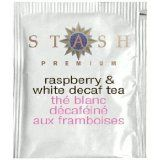 stash raspberry & white decaf tea