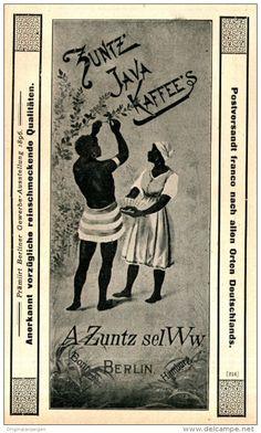 Original-Werbung/ Anzeige 1897 - ZUNTZ' JAVA KAFFEE - BERLIN - ca. 90 x 155 mm