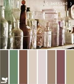 more bottled color design seeds hues tones shades  color palette, color inspiration cards #hues #tones #shades #colorpalette #colorinspiration #designseeds