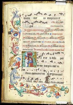 Gradual, MS M.905 II, fol. 31v - Images from Medieval and Renaissance Manuscripts - The Morgan Library & Museum