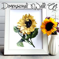 Dimensional Wall Art - The Graphics Fairy