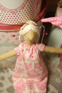 Mimin Dolls: Tutorial cabelo Tilda