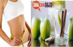 Cómo preparar agua de canela, manzana y limón Health Diet, Recipies, Food And Drink, Keto, Workout, Fitness, Healthy, Tips, Medicine