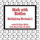 Math with Riddles: Multiplying Decimals 1