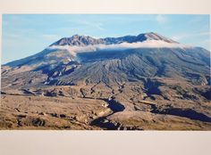 On May 18, 1980 Mount St Helens erupted. This is from our first visit to Mount St Helens on September 9, 2014. My husband and I had the best day! We went hiking amongst the hummocks and stopped many times along the drive to take pictures. You can't imagine the massive power this event had until you see it up close. What an amazing shot my husband got of this with the wispy cloud ring circling the top.    This is an 8x10 and I only have one. Wouldn't this look fantastic in your office or den?…