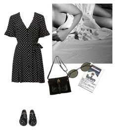 """""""fresque chatoyante"""" by eniramarine on Polyvore featuring mode, YMC, Proenza Schouler et Oliver Peoples"""