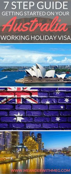 Are you about to get started on your Australia working holiday visa? Here's my guide on how to get yourself set up when you land in Oz. Travel tips | Travel Guide | Australia travel guide | Australia itinerary | Travel planning | Things to do in Australia | Australia backpacking | Backpackers guide | Melbourne | Sydney | Perth | Brisbane | Down Under