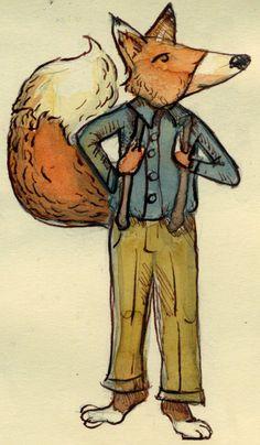 The Dapper Fox www.katiewools.com