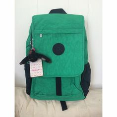Kipling Haruko Backpack 100% Authentic. Computer slot and water bottle holder on sides. No trades Kipling Bags