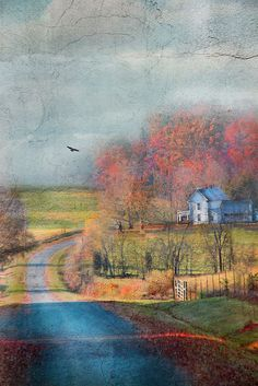 """The soul that sees beauty may sometimes walk alone."" ~Johann Wolfgang von Goethe Artist: Cheryl Tarrant Watercolor"