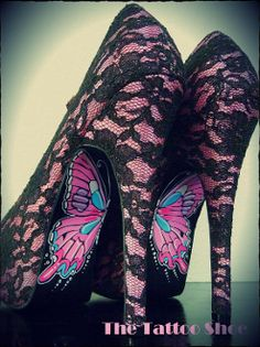 Tattoo my B.A. shoes! This picture is fabuloso!