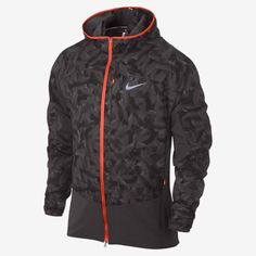 Nike Printed Trail Kiger Full-Zip Packable Men's Running Jacket