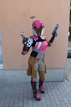 Sabine Wren cosplay. So got to have a Sabine costume!