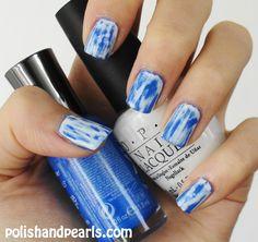 acid wash nail tutorial I just did this to my nails Cute Nails, Pretty Nails, Matte Acrylic Nails, White Nail Polish, Nail Ring, Nail Candy, Crazy Nails, Nail Art, Fabulous Nails