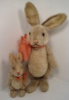 Steiff Bunnies  ~I want one!!~