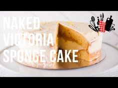 Naked Victoria Sponge Cake | Everyday Gourmet S10 Ep89 - YouTube Easy White Bread Recipe, Victoria Sponge Cake, Bread Recipes, Naked, Cheesecake, Youtube, Desserts, Food, Gourmet