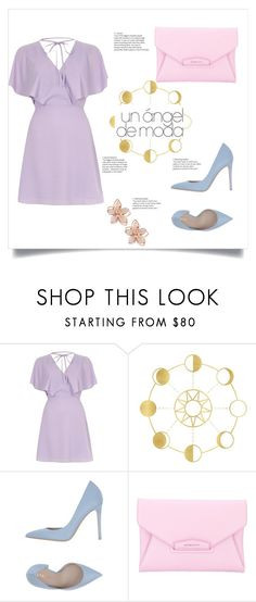 """""""pastel day"""" by flytandogan ❤ liked on Polyvore featuring River Island, Le Silla, Givenchy and NAKAMOL"""