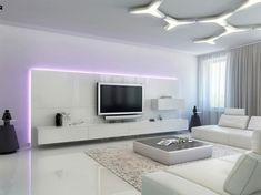 iluminacion led opciones interiores disenos futurista ideas
