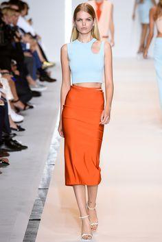 Mugler Spring 2015 Ready-to-Wear Fashion Show - Daphne Groeneveld (Women)