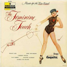 Various - The Feminine Touch at Discogs Cover Art, Lp Cover, Vinyl Cover, Easy Listening, Vintage Records, Vintage Ads, Vintage Images, Le Kraken, Petty Girl